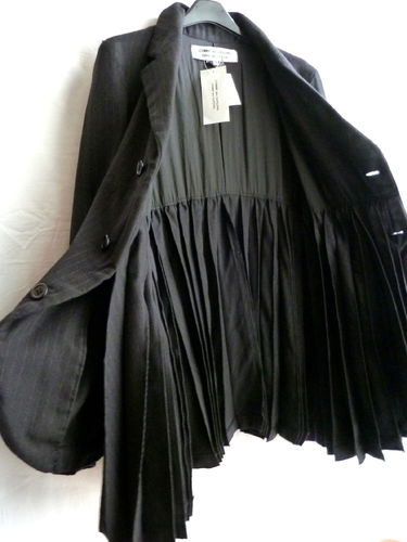 Comme des Garcons Couture Woll Jacke M schwarz
